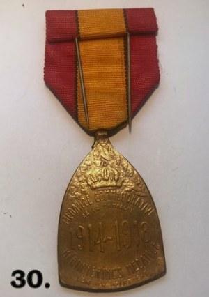 Belgijski medal pamiątkowy za wojnę 1914 -1918