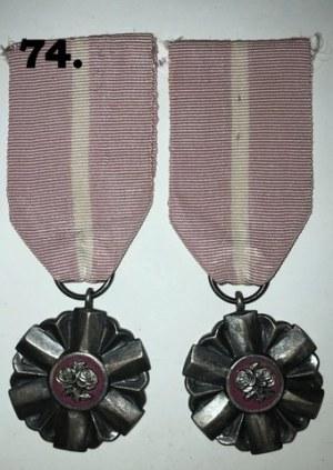 Para Medali Za Długoletnie Pożycie Małżeńskie PRL