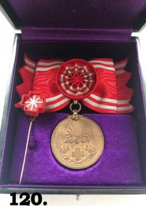 Pamiątkowy medal Japońskiego Czerwonego Krzyża
