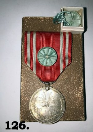 Japoński Medal Czerwonego Krzyża z okresu 1940 -1945 r.