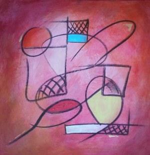 Ewa Najdenow (ur. 1967), Hot composition, 2018