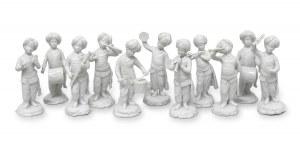 Komplet figurek orkiestry tureckiej