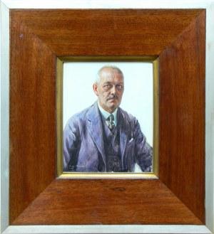 Rudolf Sternad (1880-1944), Portret Heinricha Schultza, 1926 r.