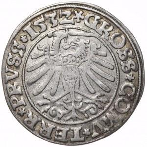 Zygmunt I Stary, grosz 1532, Toruń, PRVSS/PRVSS