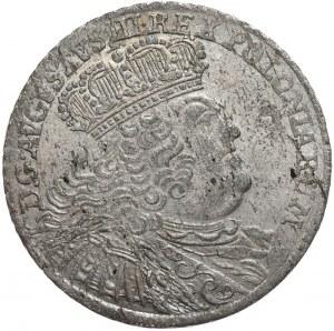 August III, Ort koronny 1755, Lipsk