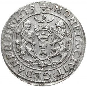 Zygmunt III Waza, ort 1619, Gdańsk