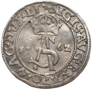Zygmunt II August, trojak 1562 Wilno