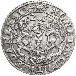 Zygmunt III Waza, ort 1625, Gdańsk