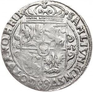 Zygmunt III Waza, ort 1623, Bydgoszcz, PRV:M+, piękne lustro