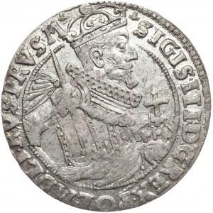 Zygmunt III Waza, ort 1624, Bydgoszcz, PRVS:M+, piękne lustro