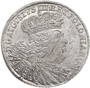 August III, Ort koronny 1754, Lipsk