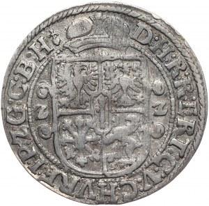Prusy Książęce, Jerzy Wilhelm, ort 1622, Królewiec, popiersie bez mitry