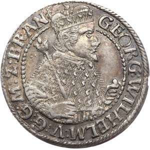 Prusy Książęce, Jerzy Wilhelm, ort 1622, Królewiec