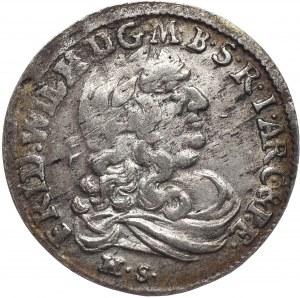 Prusy Księstwo, Fryderyk Wilhelm, szóstak 1681, Królewiec