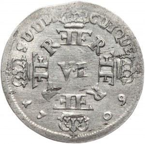 Prusy, Fryderyk I, szóstak 1709, Królewiec