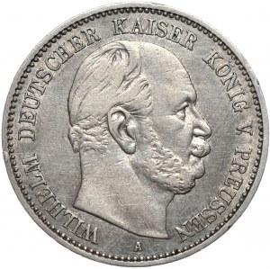 Niemcy, Wilhelm I, 2 marki 1876 A, Berlin