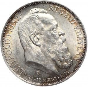 Niemcy, Bawaria, 3 marki 1911