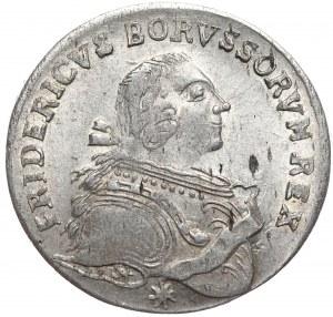 Niemcy, Prusy, Fryderyk II, ort 1753 E, Królewiec