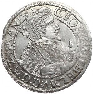 Prusy Książęce, Jerzy Wilhelm, ort 1624 BRAND, Królewiec