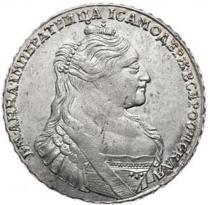 Rosja, Anna, rubel 1734, Moskwa