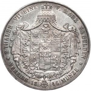 Niemcy, Prusy, dwutalar 1846
