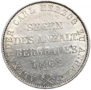 Niemcy, Anhalt, Aleksander Karol, talar 1862 A , Berlin
