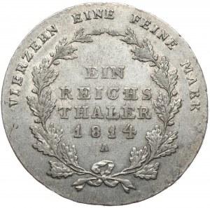 Niemcy, Prusy, talar 1814 A, Berlin
