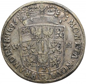 Prusy (księstwo), Fryderyk III, 2/3 talara 1693
