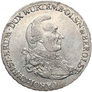 Śląsk, Karol Krystian Erdmann, talar 1785 B, Wrocław