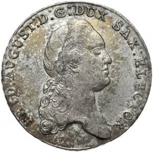 Saksonia, Fryderyk August III, talar 1782 IEC, Drezno
