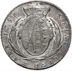 Saksonia, Fryderyk August III, talar 1798 IEC, Drezno