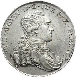 Saksonia, Fryderyk August III, talar 1803 IEC, Drezno