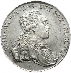 Saksonia, Fryderyk August III, talar 1806 SGH, Drezno