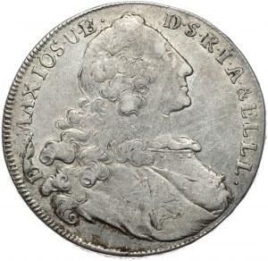 Niemcy, Bawaria, Maksymilian III Józef, talar 1764