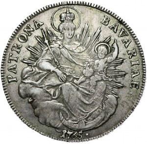 Niemcy, Bawaria, Maksymilian III Józef, talar 1765