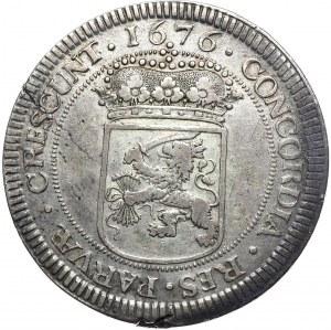 Niderlandy, Zachodnia Fryzja, talar 1676 (Zilveren dukaat)
