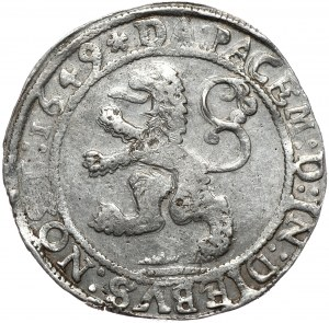 Niderlandy, Zwolle, talar lewkowy 1649