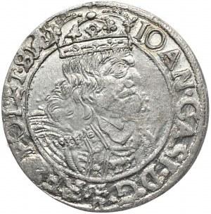 Jan Kazimierz, szóstak 1661 GBA, Lwów