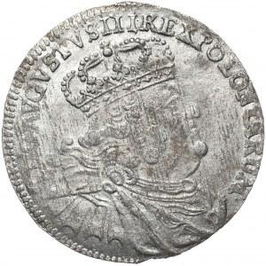 August III, dwuztotówka 1753 EC, Lipsk