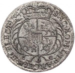 August III, trojak 1754, Lipsk