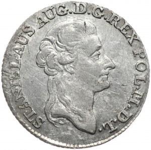 Stanisław August Poniatowski, złotówka 1787 EB, Warszawa