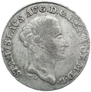 Stanisław August Poniatowski, dwuzłotówka 1792 EB, Warszawa