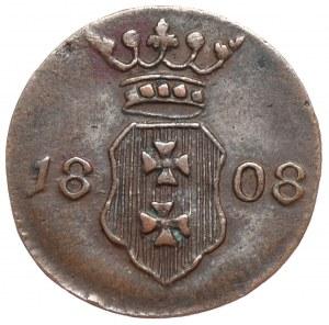 Wolne Miasto Gdańsk, szeląg 1808 M