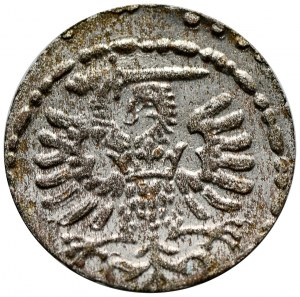 Zygmunt III Waza, denar 1592, Gdańsk