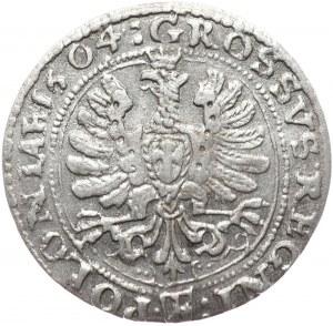 Zygmunt III Waza, grosz 1604, Kraków