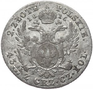 Królestwo Kongresowe, Aleksander I, 2 złote 1816, Warszawa