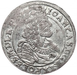 Jan II Kazimierz, Ort 1663 A-T, Kraków