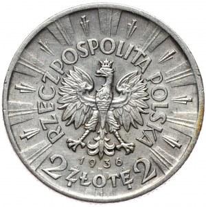 2 złote 1936, Piłsudski