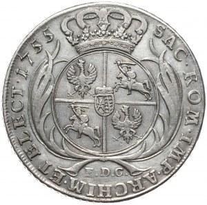 Kolekcja Piorta Anuszczyka, talar 1754, Lipsk