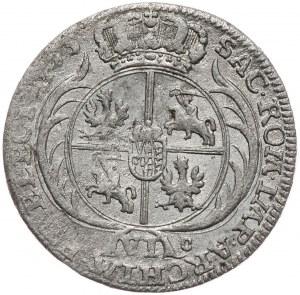 Kolekcja Piotra Anuszczyka, szóstak 1755, Lipsk